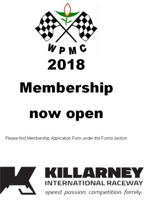 2018 jan - dec membership now open