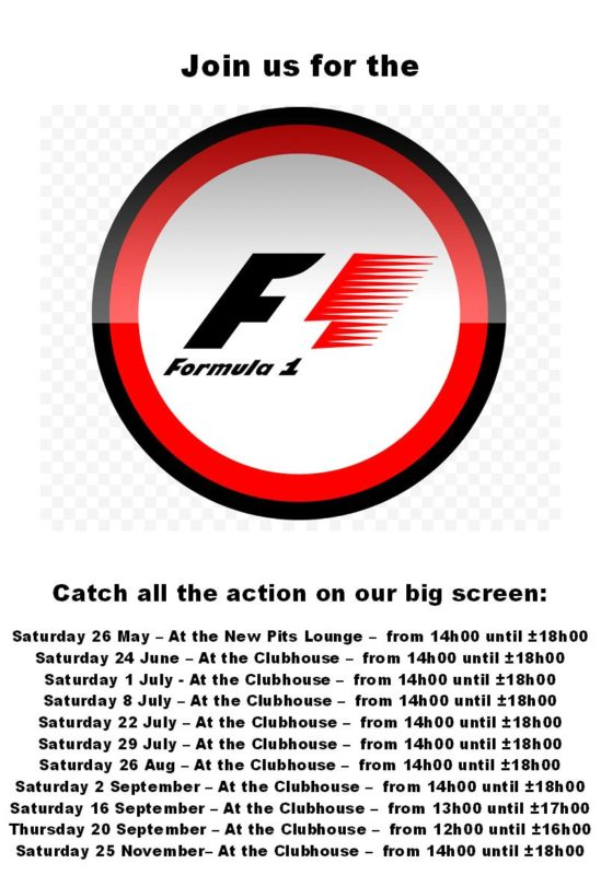 2018 F1 Viewing