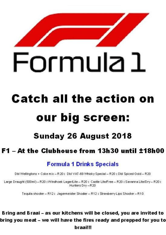 2018 F1 Viewing 26Aug 2018