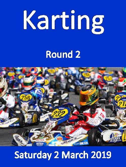 Karting Poster Rnd 2 2 Mar 2019