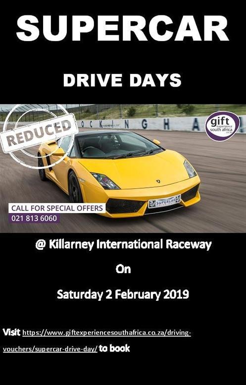 supercar drive days 2Feb2019 poster special offer ver1