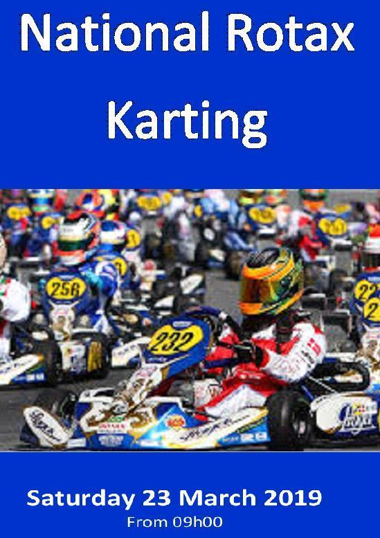 National RotaxKarting Poster