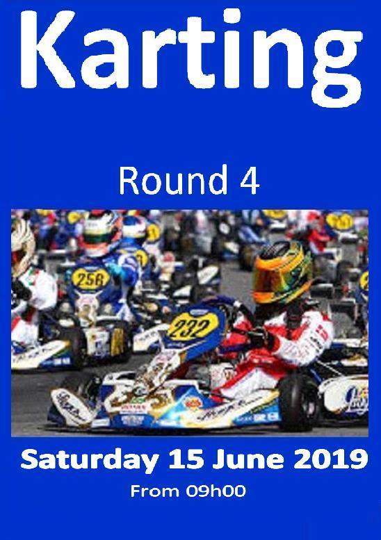 Karting Poster Rnd 4 15Jun2019