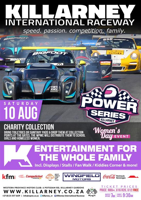 Upcoming Events at Killarney Raceway