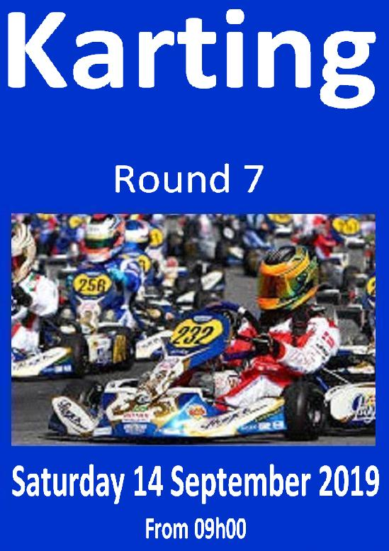 Karting Poster Rnd 7 14Sept2019